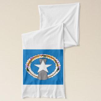 Patriotisk Scarf med flagga av nordliga Mariana Sjal
