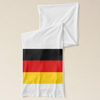 Patriotisk Scarf med flagga av Tysklandet Sjal