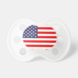 Patriotisk soother för nappar för US-amerikanska
