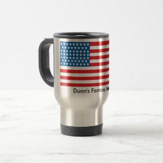 patriotisk travel mug 15oz rostfritt stål resemugg