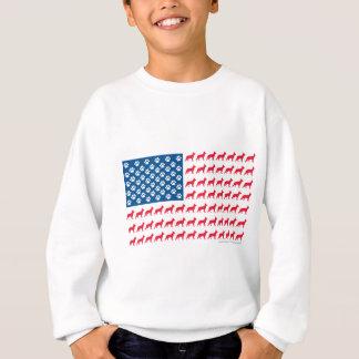 Patriotisk tysk herde t shirts