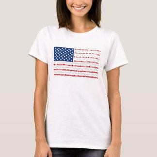 Patriotisk USA flaggaT-tröja T-shirt