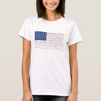 Patriotisk USA flaggaT-tröja Tee Shirts