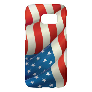 Patriotisk vinka U.S.-flagga Galaxy S5 Skal