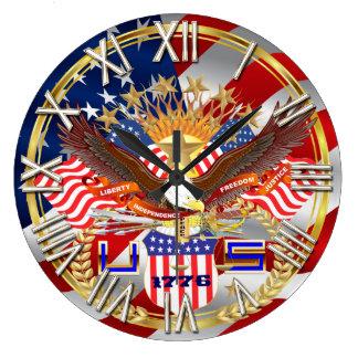 Patriotiska eller för veteranplocka olik stilar stor klocka
