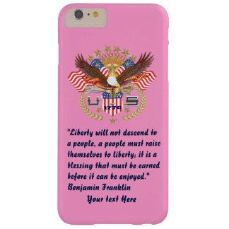 Patriotiska fredskogrosor barely there iPhone 6 plus fodral