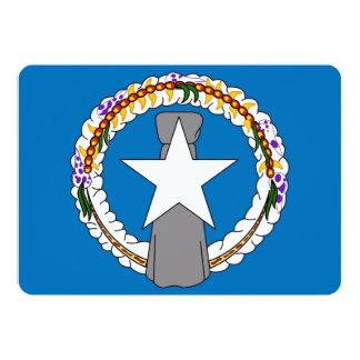 Patriotiska inbjudningar med den nordliga Mariana