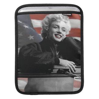 Patriotiska Marilyn iPad Sleeve