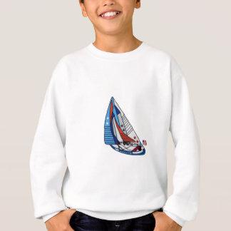 Patriotiska segelbåtskjortor t shirt