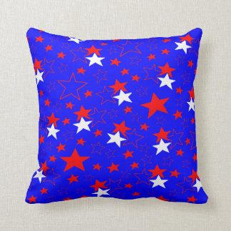 Patriotiska stjärnor kudde