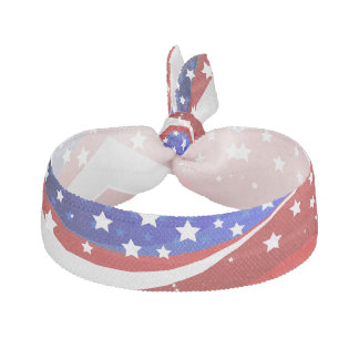 Patriotiska stjärnor & randar görar sammandrag hårband