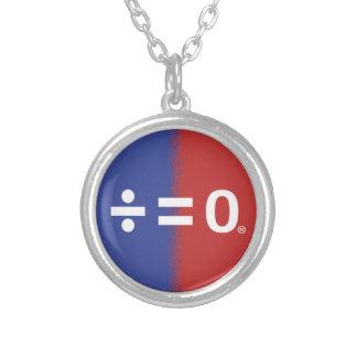 Patriotiskt amerikanenhetsymbol silverpläterat halsband