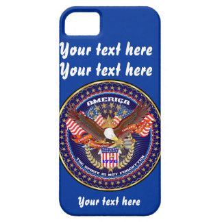 Patriotiskt behar all stilar beskådar iPhone 5 skal