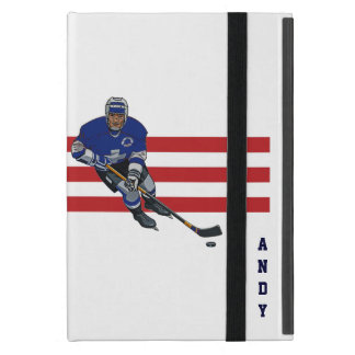 Patriotiskt fodral för luft för hockeydesigniPad