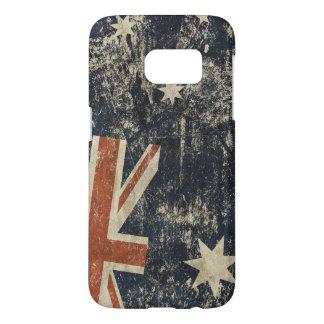 Patriotiskt fodral med av Australien Galaxy S5 Skal