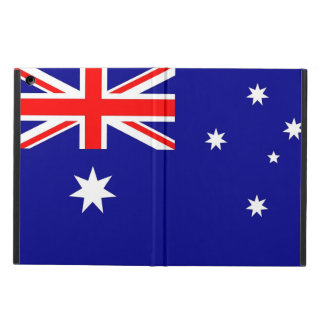 Patriotiskt ipadfodral med flagga av Australien Fodral För iPad Air