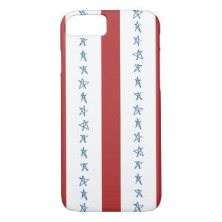 Patriotiskt mobilt fodral