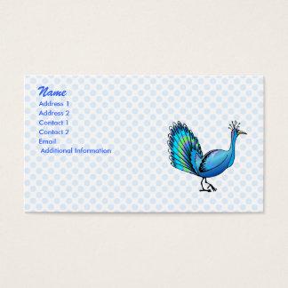 Patten påfågel visitkort