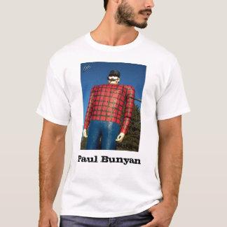 """""""Paul Bunyan"""" manar T-tröja T Shirts"""