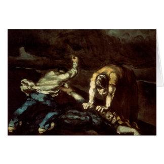 Paul Cezanne - mord Hälsningskort