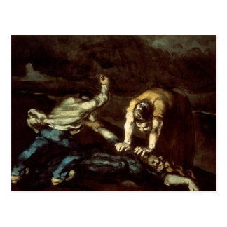 Paul Cezanne - mord Vykort