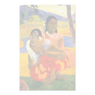 PAUL GAUGUIN - Nafea faaipoipo 1892 Brevpapper