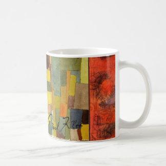 Paul Klee abstraktmugg Kaffemugg