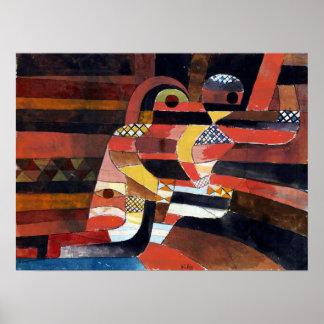 Paul Klee älskare Poster