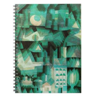 Paul Klee dröm- stadsanteckningsbok Anteckningsbok