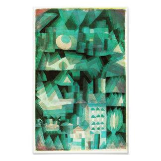 Paul Klee dröm- stadstryck Fotografiska Tryck