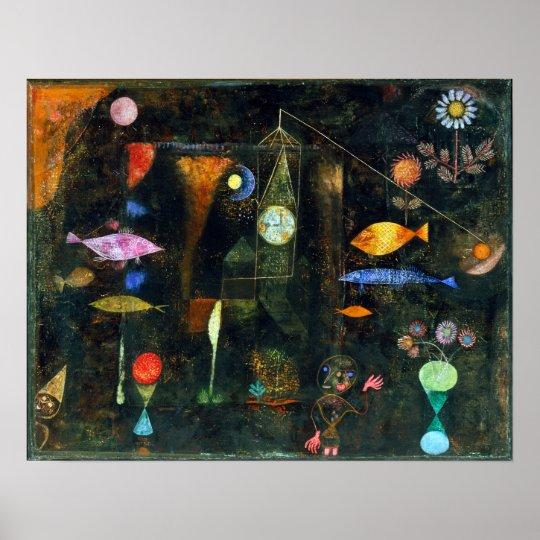 Paul Klee fiskmagi Poster