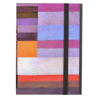 Paul Klee konst: Avfyra aftonen iPad Air Skydd