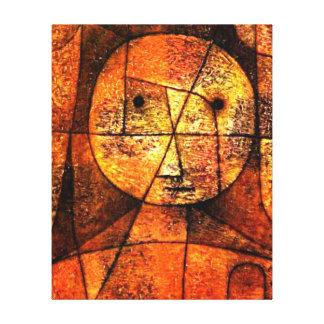 Paul Klee konst - flor Canvastryck