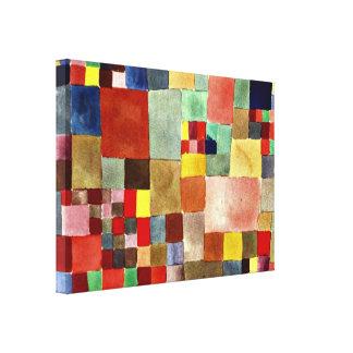 Paul Klee konst: Floror på sanden Canvastryck