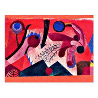 Paul Klee konst: Giftiga bär Vykort