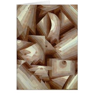 Paul Klee: Kristall Hälsningskort