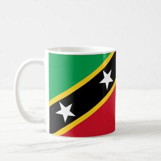 """Paul McGehee """"St. Kitts & Nevis sjunker"""" muggen Kaffemugg"""