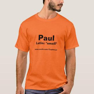 Paul t-skjorta t-shirt