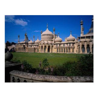 Paviljong Brighton, Sussex, England, Vykort