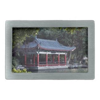 Paviljong sjö Ronghu, Guilin, china