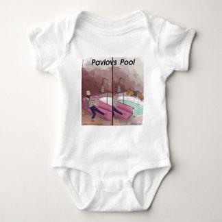 Pavlovs rolig tecknad för bassäng t-shirt
