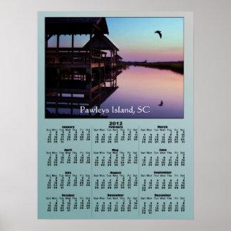Pawleys öbäck ansluter kalender 2012 print