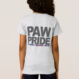 PawPride flickor T-shirt
