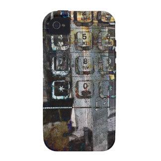 payphonen stämm collageiphone case iPhone 4 fodral