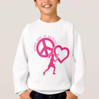PEACE-LOVE-LACROSSE TEE SHIRTS
