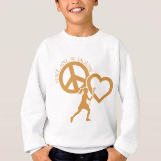 PEACE-LOVE-LACROSSE TRÖJA