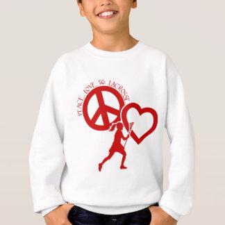 PEACE-LOVE-LACROSSE TRÖJOR