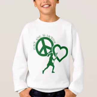 PEACE-LOVE-LACROSSE TSHIRTS