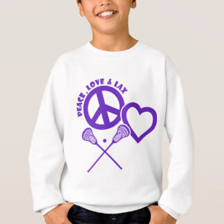 PEACE-LOVE-LAX T-SHIRTS