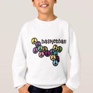 peacesignswithcolorfulfill-basketball-10x10 t-shirts
